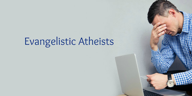 Why do atheists evangelize? Misery Loves Company