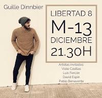 Concierto de Guille Dinnbier en Libertad 8