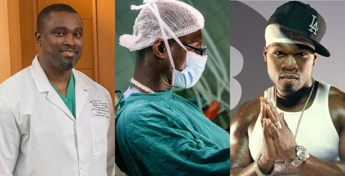 Meet Ghanaian surgeon who saved US rapper 50 Cent's life when he was shot 9 times
