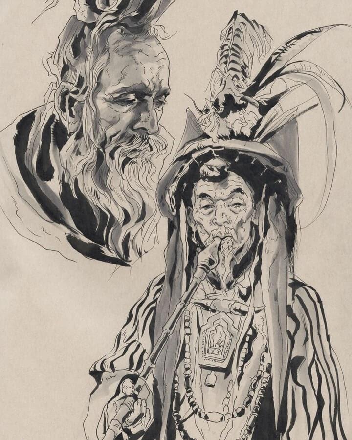 03-The-wise-elder-Llin-www-designstack-co