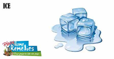 Home Remedies For Pimples: Ice