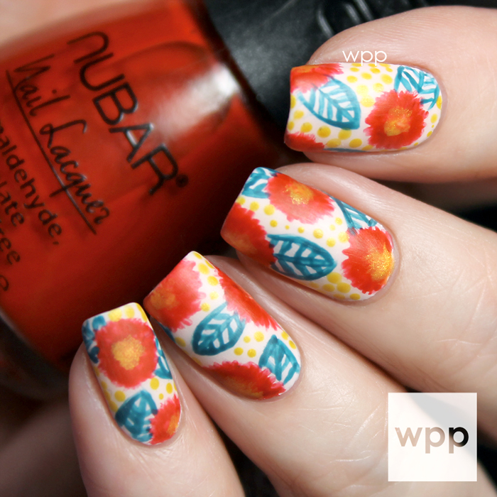 Nubar FALLing in Love Collection Nail Art