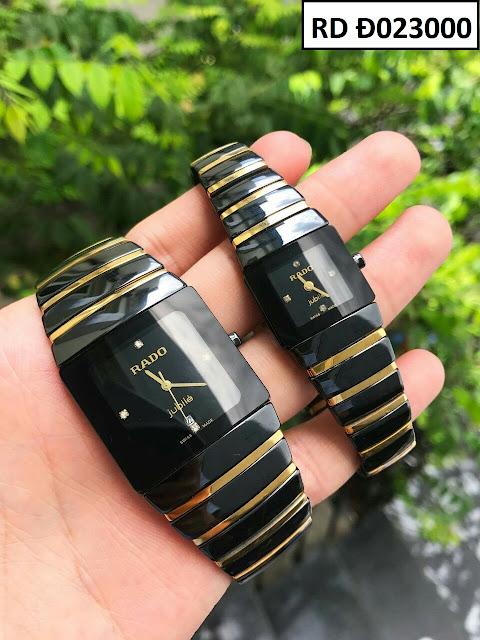 Đồng hồ cặp đôi Rado phụ kiện hoàn hảo nếu phối cùng trang phục công sở