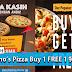 Domino's Pizza Buy 1 FREE 1 特别优惠!不要错过了!