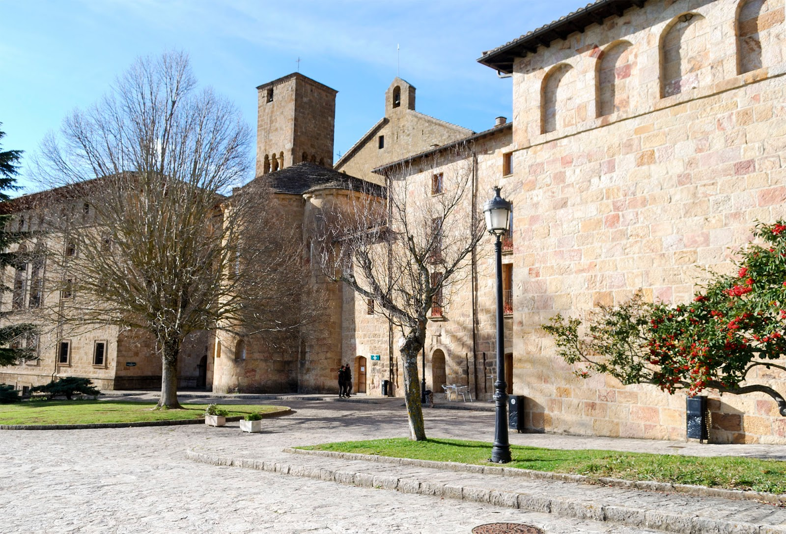 monasterio leyre navarra spain