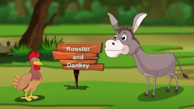Bedtime Stories for kids | Rooster And Donkey Stories for Teenagers