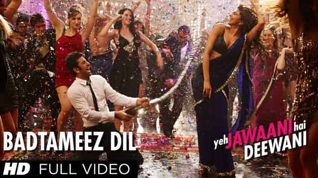 बद्तमीज़ दिल Badtameez Dil Lyrics In Hindi - Benny Dayal
