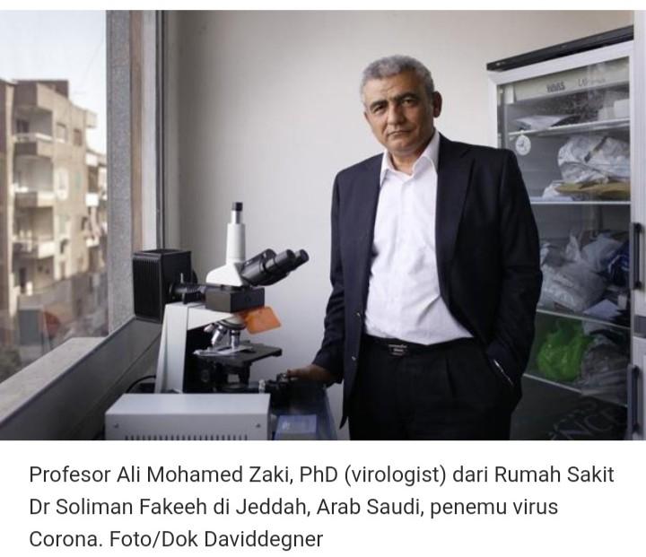 Tidak Heboh di Media, Ini Ilmuwan Muslim Penemu Virus Corona