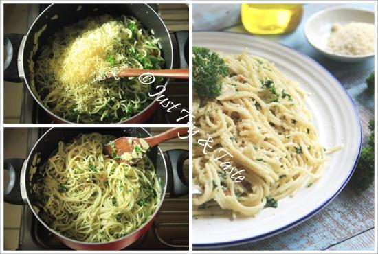 Resep Spaghetti Aglio e Olio