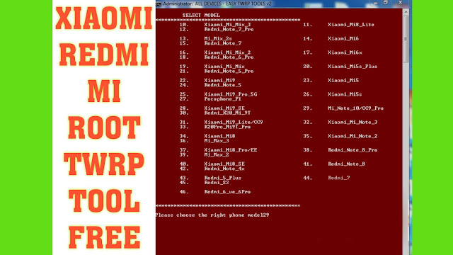 All Xiaomi Redmi Twrp Root Tool (2020) Auto Root File Free Download