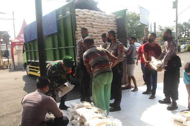 10 Ton Beras Siap Disalurkan ke 239 Desa di Wilayah Kabupaten Purbalingga