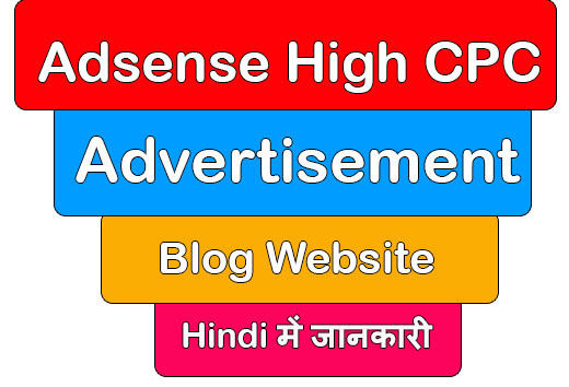 Adsense High CPC Advertisement Blog Me Lagaye
