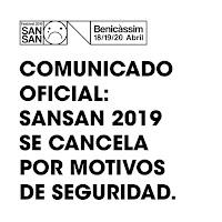Cancelado el SanSan Festival 2019