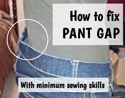 http://fixlovely.blogspot.ca/2014/05/how-to-fix-pant-gap.html