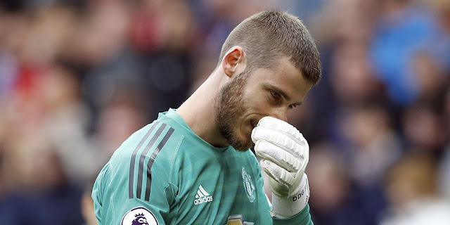 Expensive salary here David Detail Gea to Manchester United