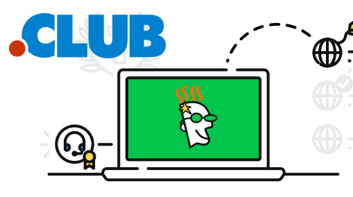 Domain .club 1 Year Free