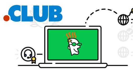 Offre spéciale! Achetez un nouveau domaine .CLUB