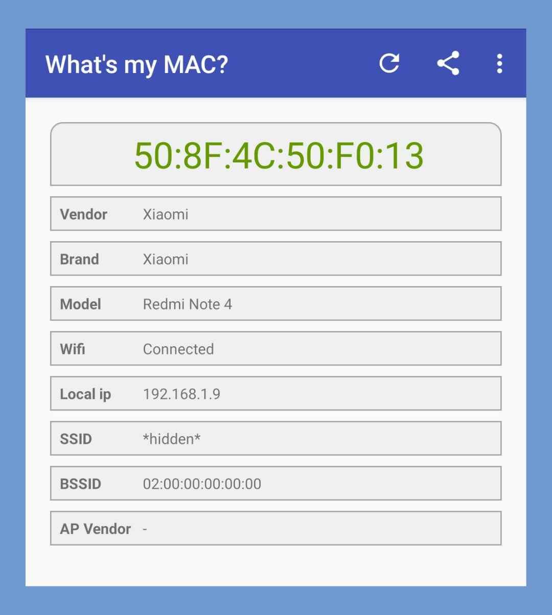 Cara Melihat Mac Address HP