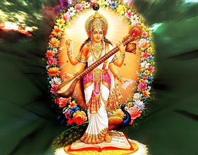 Images of goddess saraswati devi,