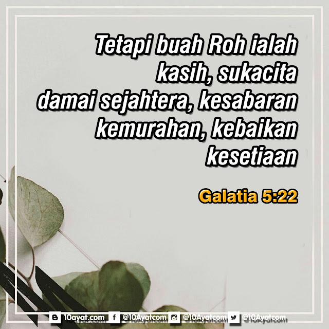 Galatia 5:22