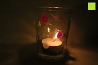 Glas mit Teelicht: Kreidemarker – 10er Pack neonfarbene Markerstifte. Für Whiteboard, Kreidetafel, Fenster, Tafel, Bistros – 6mm Kugelspitze mit 8 Gramm Tinte
