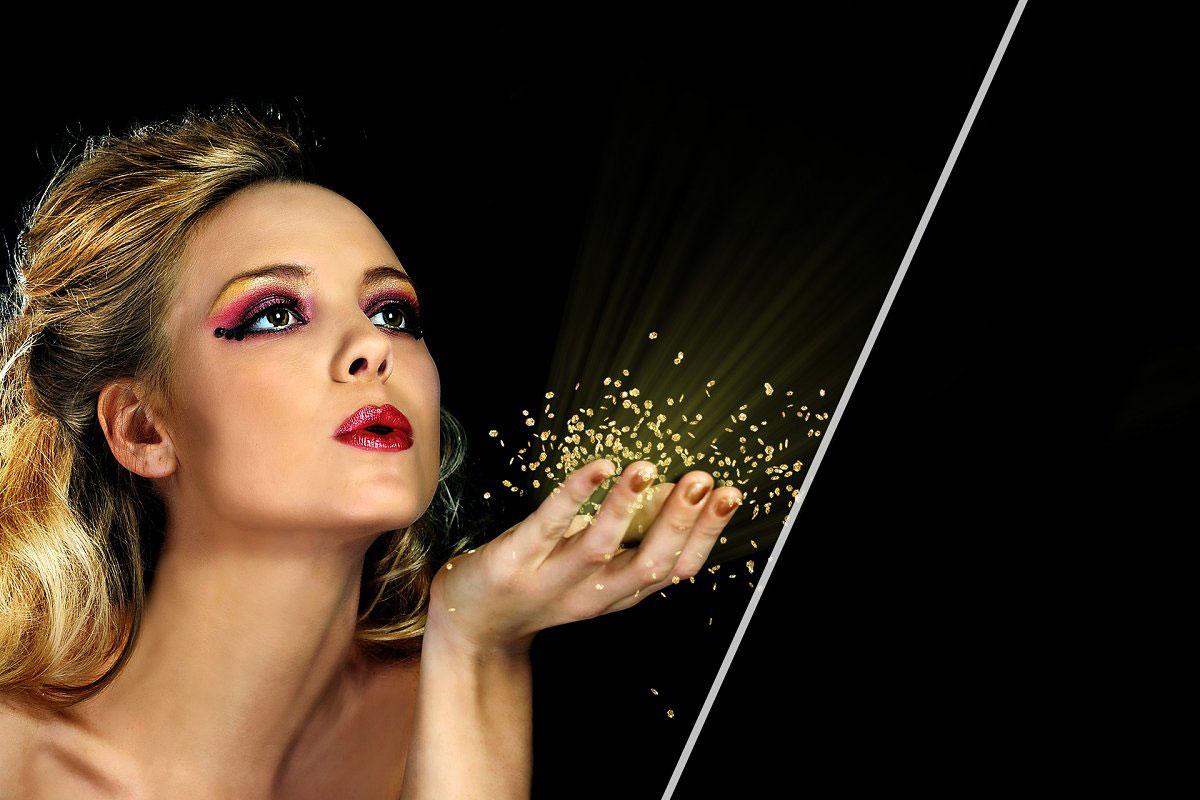 29 Blowing Glitter Photo Overlays 5224211.