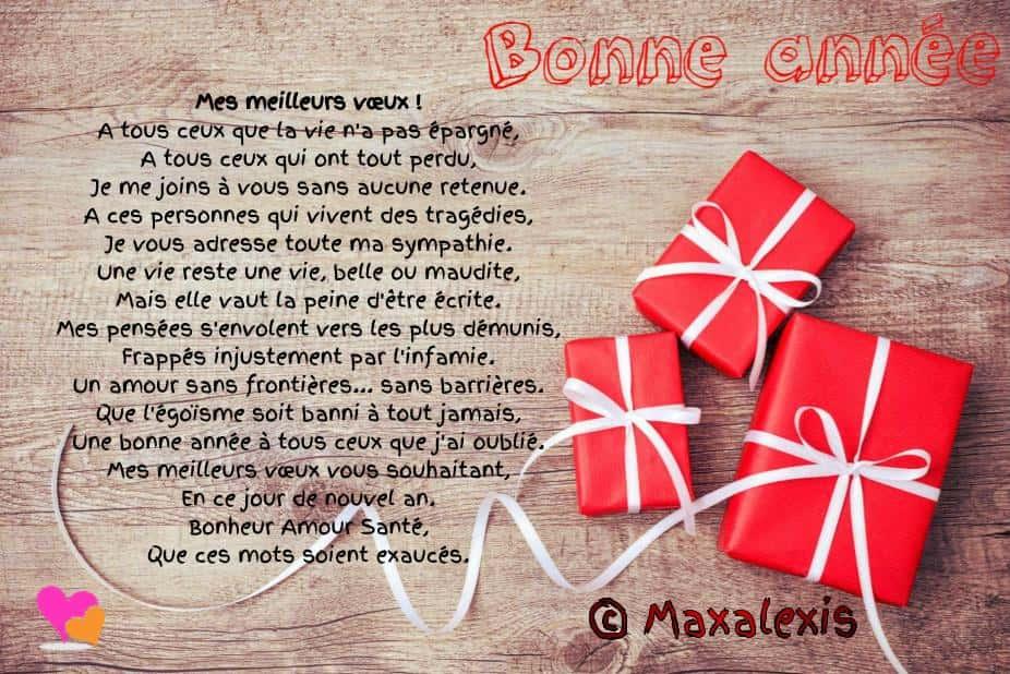 Connu Beaux textes de vœux pour souhaiter une bonne année | Poésie d'amour PQ19