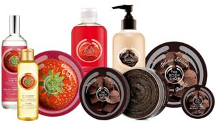 The Body Shop: Chocolate and Strawberries ~ #Review