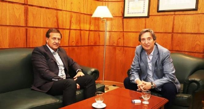 ¿Nuevas restricciones?: Por el aumento de casos en San Rafael se reúnen Rodolfo Suarez y Emir Félix