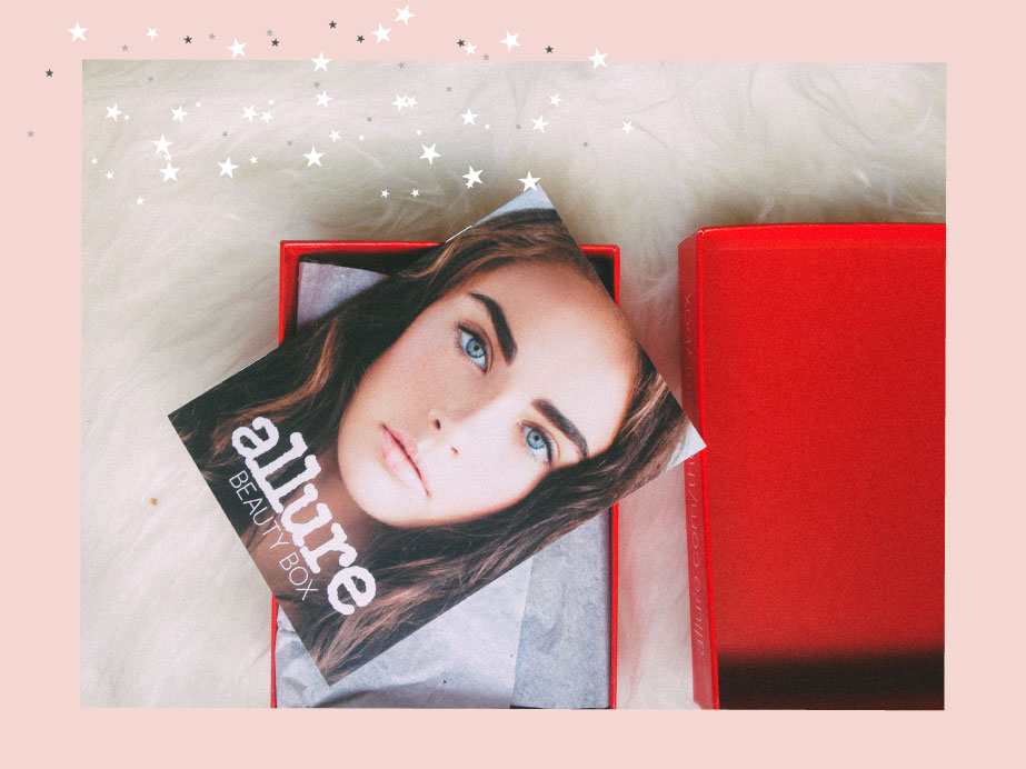 Allure beauty box// January 2017