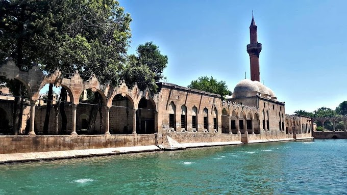 Pool of Abraham in Turkey