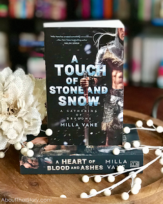Book Review: A Touch of Stone and Snow by Milla Vane | About That Story