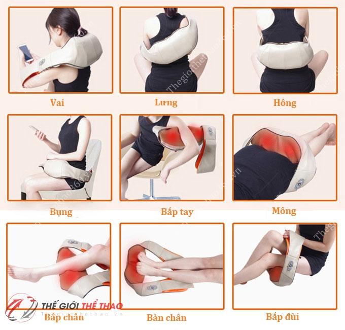 Kết quả hình ảnh cho máy massage giảm đau vai gáy