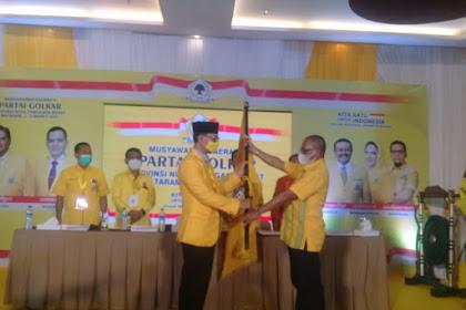 Mohan Roliskana Resmi Nahkodai Ketua DPD Partai Golkar NTB,