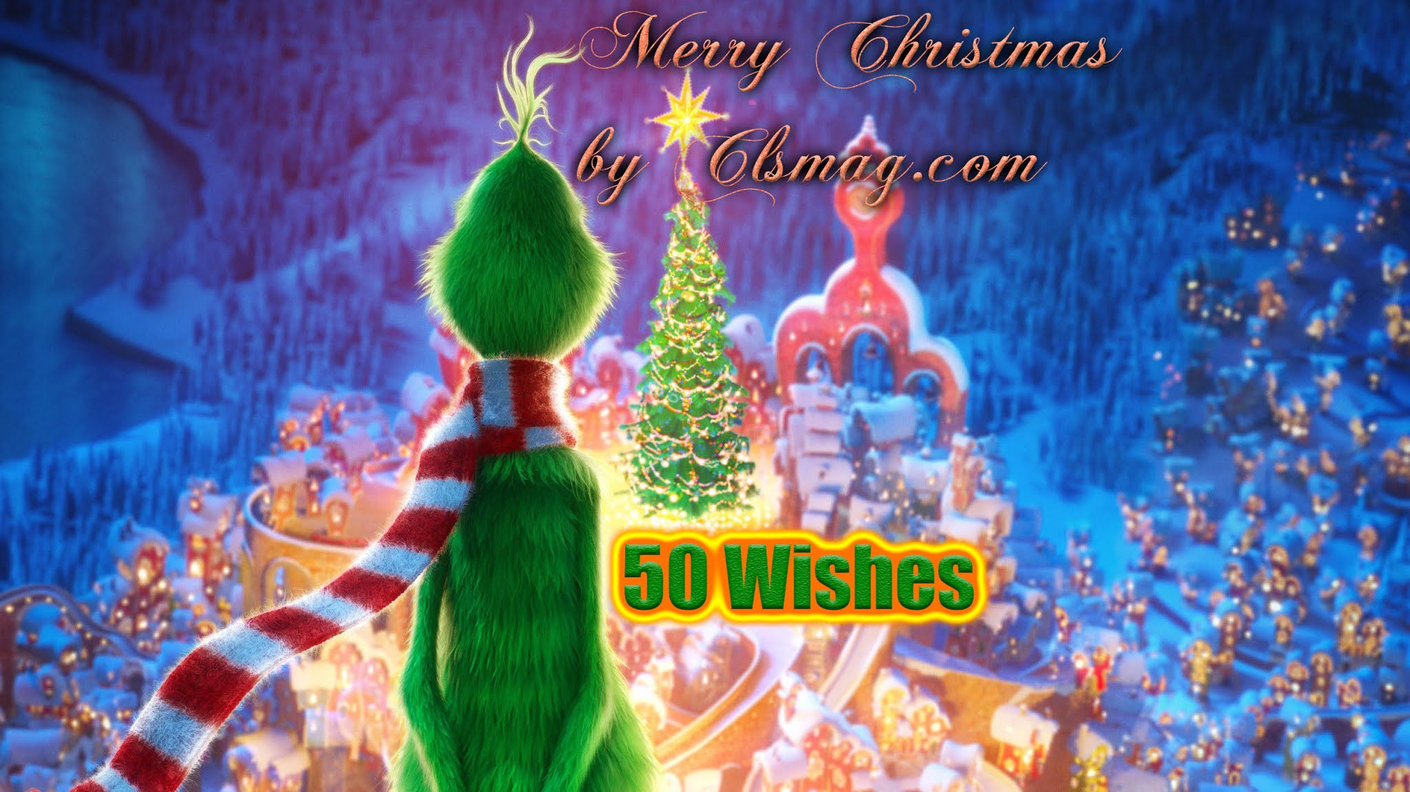 2020 50 Merry Christmas Wishes and Messages