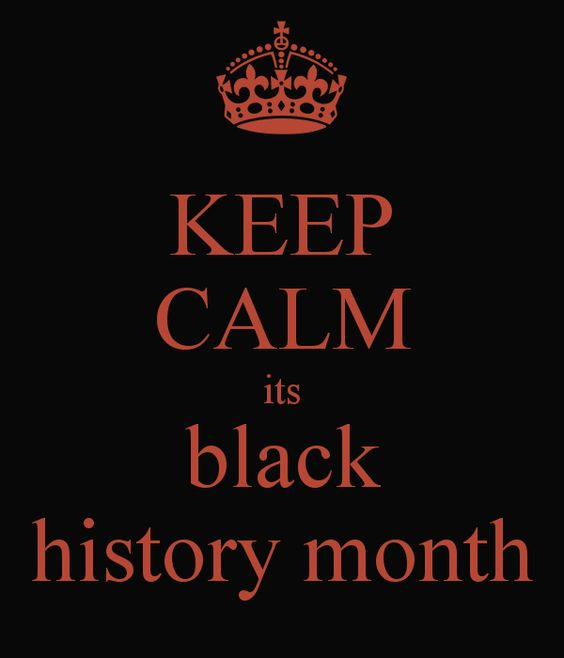 month of black history 2018