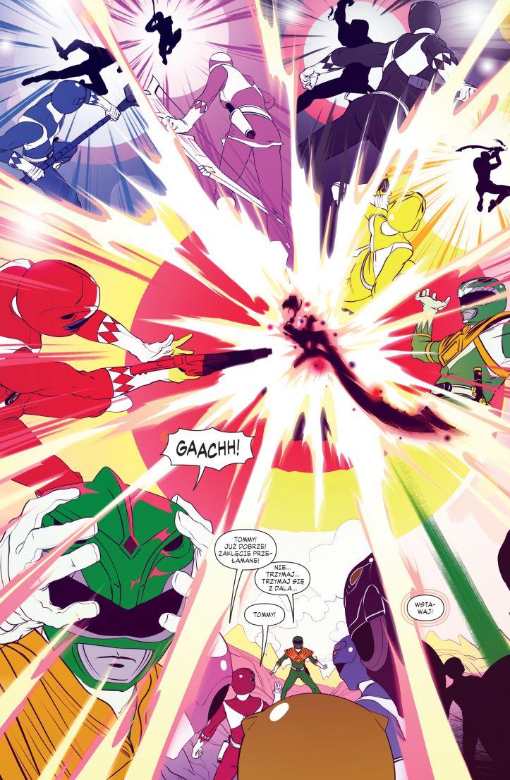 Mighty Morphin Power Rangers. Rok drugi przykładowa strona