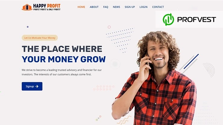 Happy Profit обзор и отзывы HYIP-проекта