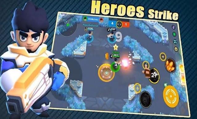 Heroes Strike Offline: MOBA & Battle Royale