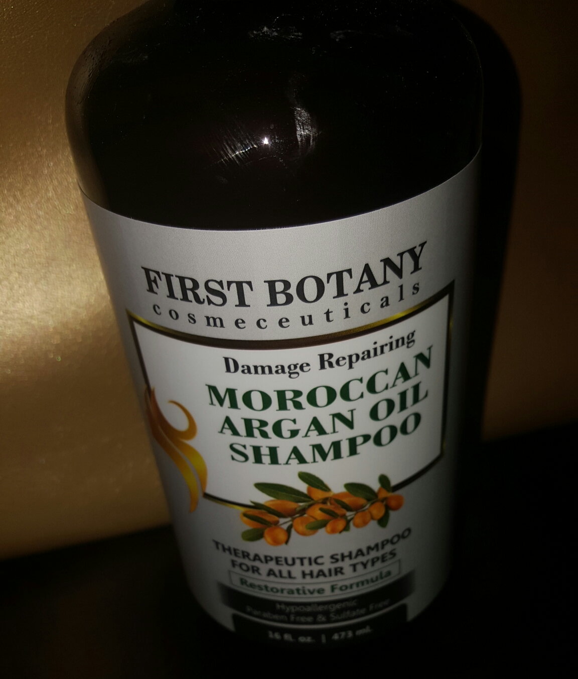 tiny drops of honey this mommy 39 s sweet life first botany moroccan argan oil shampoo review. Black Bedroom Furniture Sets. Home Design Ideas