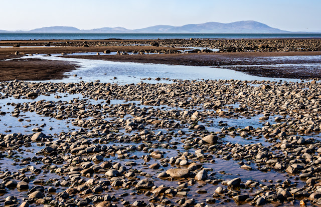 Photo of looking across the Solway Firth to the Scottish hills