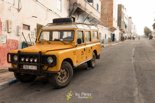 Transporte de surf en Sidi-Ifni