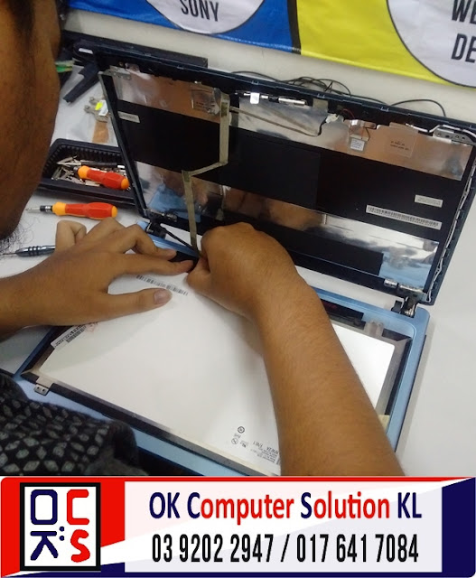 [SOLVED]SKRIN LAPTOP ACER V5-471 RETAK |REPAIR LAPTOP AMPANG 3
