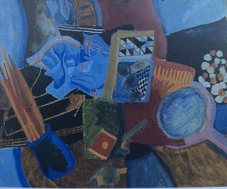 Untitled (still life with brushes) Pauline Boty 1959