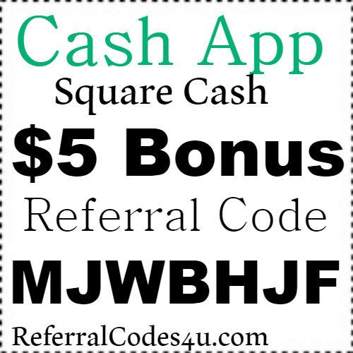 $5 Bonus Square Cash App Reward Code, Referral Code and Sign Up Bonus 2019-2020
