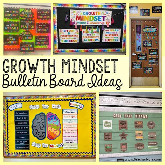 Growth Mindset Bulletin Boards