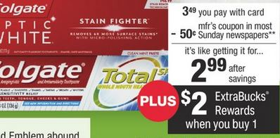 CVS Couponers FREE Colgate Deal 1-19-1-25
