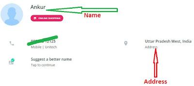 sim number detail by true caller
