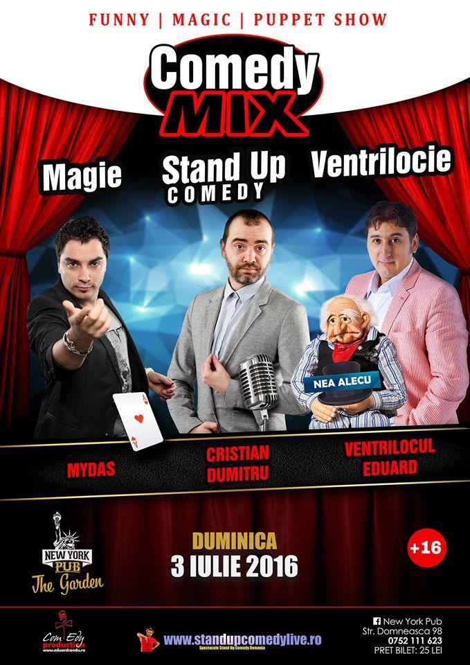 Stand-Up Comedy, Magie si Ventrilocie duminica 3 iulie Galati