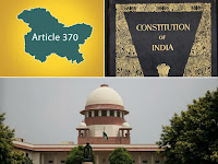SC TO HEAR PETITION CHALLENGING CONSTITUTIONALITY OF ARTICLE 370